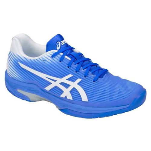 4a957ec50130 Asics Women s Solution Speed FF Tennis Shoe Blue Coast White